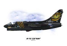 A-7D Corsair Profile