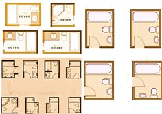 Bathroom design ideas - #homerenovation #homerepair #homeimprovement #bathroomlayout #bathroom #home #realetate #redesign