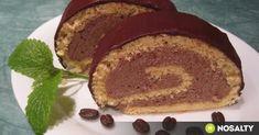 Mokka rolád recept képpel. Hozzávalók és az elkészítés részletes leírása. A mokka rolád elkészítési ideje: 45 perc Pancakes, French Toast, Breakfast, Recipes, Grandma's Recipes, Morning Coffee, Pancake, Ripped Recipes