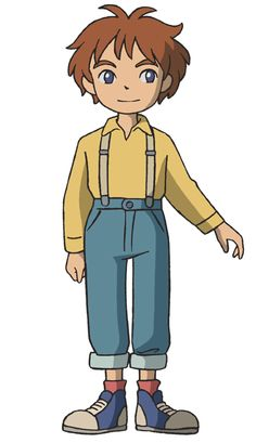 Oliver, Normal Clothes - Pictures & Characters Art - Ni No Kuni