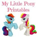 My Little Pony Printables - FREE! By 1+1+1=1