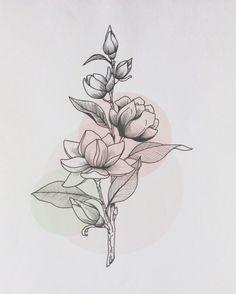 Эскиз от 07.06 Цветочки )))