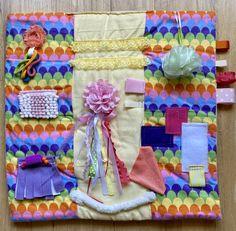 Alzheimer Care, Dementia Care, Alzheimers, Fidget Blankets, Fidget Quilt, Elderly Care, Mermaid Scales, Caregiver, Soft Fabrics