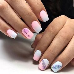 Want some ideas for wedding nail polish designs? This article is a collection of our favorite nail polish designs for your special day. Cute Nail Art Designs, Nail Polish Designs, Nails Design, Cute Nails, Pretty Nails, My Nails, Short Nails Art, Beautiful Nail Art, Creative Nails