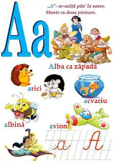 Creionasul cel istet si prietenii: Alfabetul (cu ilustratii) COD 04 Alphabet Writing, Learning The Alphabet, Early Education, Kids Education, English Phonics, Teacher Supplies, School Lessons, Kids And Parenting, Activities For Kids