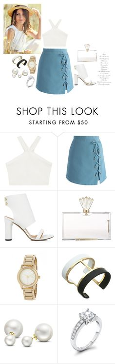 """""""classy , beauty"""" by chisomnatalie on Polyvore featuring BCBGMAXAZRIA, Chicwish, IRO, Charlotte Olympia, DKNY, Vince Camuto and Allurez"""