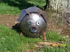 scrap metal yard art - Yahoo Image Search Results                                                                                                                                                     More
