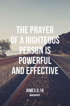 Bible Verses On Prayer | The Prayer of A Righteous Person is Powerful :: iBibleverses ...