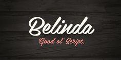 Belinda - Webfont & Desktop font « MyFonts