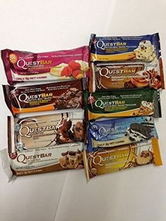 Quest Nutrition Bars 9 Flavor Variety Pack (9 mixed Flavours)