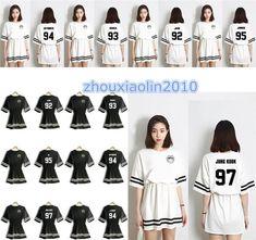 Kpop Bangtan Boys Bts Jung Kook J-Hope V Jimin Suga Jin Rap Monster Girls Dress