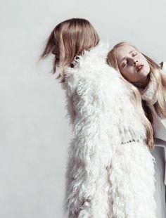 "opaqueglitter:  ""3 Sisters"" anabelle magazine, ph. Amanada Camenisch"
