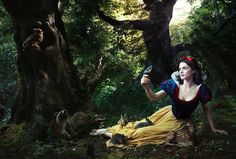 """Rachel Weisz as Snow White (Snow White) """"Remember, you're the one who can fill the world with sunshine."""" - Snow White"""