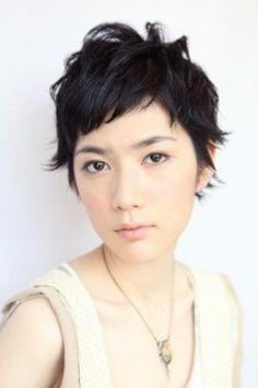 黒髪でも楽しめる★ショートヘア×パーマ髪型特集|マシマロ