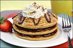 HG's Tower of Tiramisu Pancakes