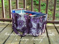 Ambleside Homeschooling And A Large Family