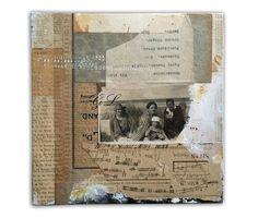 Handmade collage by Lee McKenna