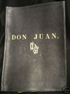 Don Juan. You do not lose Don Juan when you are about to go on stage... or else! MUA HA HA HA HA HA HA HA HA!
