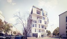 residential building in Berlin by edit! architects