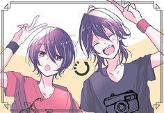 Star Art, Illustration, Anime Boy, Drawings, Kawaii, Anime Friendship, Anime Siblings, Anime Child, Stars
