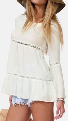 Boho Chick Top by lucia
