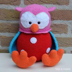 Stip & HAAK: Floor crochet pattern / HAAK patroon