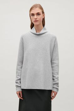 COS | A-line milano knit jumper
