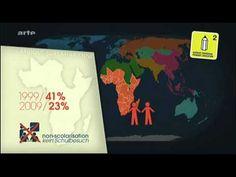 """""""Mit offenen Karten"""" - so heißt ein geopolitisches Magazin auf ARTE, bei dem Moderator Jean-Christophe Victor mithilfe von Karten internationale Beziehungen, geschichtliche Hintergründe und langfristige Tendenzen erläutert. In diesem Video geht es um das Menschenrecht auf Bildung. Sehr interessant!"""