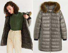 geaca matlasata mango in categoria Paltoane De Iarna - Modele Cambrate Largi - Ce se poarta in iarna 2020 Mango, Fur Coat, Winter Jackets, Fashion, Tricot, Manga, Moda, Fashion Styles, Fur Coats
