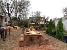 Total Renovation made by Matt Blashaw Yard Crashers, Backyard, Patio, Diy Network, Exterior Design, Outdoors, Gardening, Amazing, Outdoor Decor