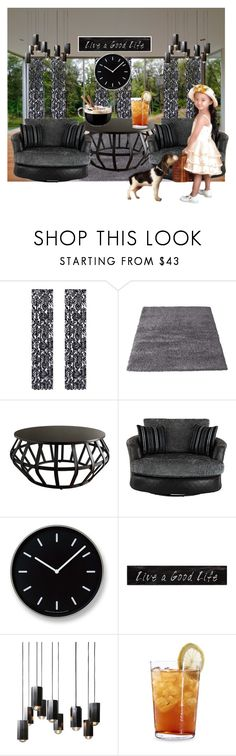 """""""Untitled #6613"""" by princhelle-mack ❤ liked on Polyvore featuring interior, interiors, interior design, home, home decor, interior decorating, J. Queen New York, Inspire Q, Lemnos and 3R Studios"""