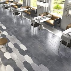Elongated concrete hexagons in four colors and solid colors black and white available in store now . Can be used for wall and floor areas. Suitable for residential and commercial usage.  #architects #architectslife #architecture #architecturelovers #architecturedesign #architecturelover #architectureproject #architect #interior #interiors #interiorarchitecture #interiorarchitect #interiordesign #interiordecor #interiorstyling #interiorideas #porcelain #luxe #cerastone #cerastonetiles #woollahra #design #designer #tiles #follow4follow #sydney #italian #instagram #instadaily #luxurylifestyle Hexagon Tiles, Mosaic Tiles, Wall Tiles, Statuario Marble, White Porcelain Tile, Cement Color, Stone Flooring, Bathroom Flooring, Amazing Bathrooms