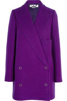 Stella McCartney|Edith double-breasted wool coat|NET-A-PORTER.COM