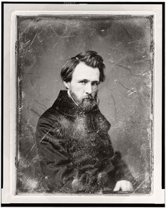 Mathew B. Brady (1822 – 1896) was one of the first American photographers, who pioneered the daguerreotype technique in America. Brady opened his own studio i
