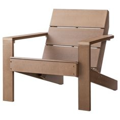 This is the Adirondack chair I'm using for inspiration when I build 2 for our front porch.