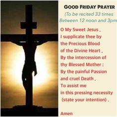 Good Friday Novena Prayer