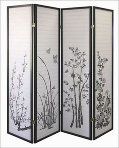 oriental shoji screen #oriental #screen.  How can I hack this?  Got to be a way.