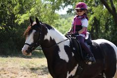 Shermy and Jamie! Submitted by Shannon Long. #painthorse #paintedpony #horseriding #horseback #trailriding