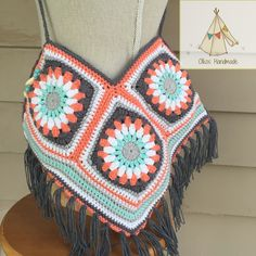 Oikos Handmade Grammy Purse.... Somebody make this or something similar to this for me, please!!