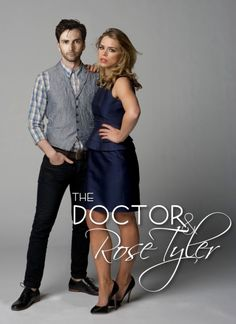 If they made a spin off of Rose and Meta-Doctor's life I would LEGIT watch that. Like, I would watch it instead of the current Doctor Who,