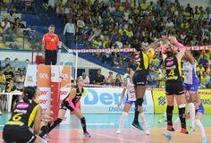 Blog Esportivo do Suíço:  Rio de Janeiro domina Praia, vence e lidera Superliga Feminina com folga
