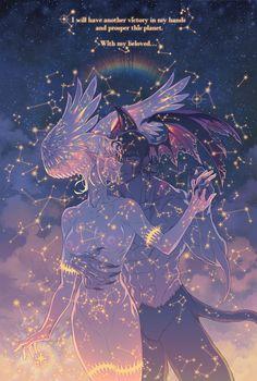 Devilman | Satan (Ryo Asuka) & Akira Fudo