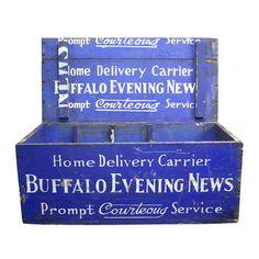 Aurora Mills: Buffalo Evening News Crate, at 21% off!