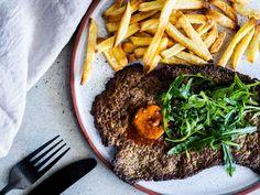 Tasty Kitchen, Seaweed Salad, Steak, Ethnic Recipes, Food, Essen, Steaks, Meals, Yemek