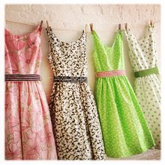 A tea dress collection by sohomode on Etsy, $600.00 How cute are these @Louise Hayhurst