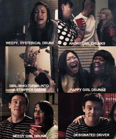 Glee: blame it on the alcohol :) one of the funniest episodes and i love rachel and blaines duet!