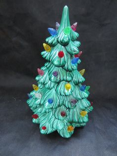 Small Ceramic Christmas Tree by heydarlin on Etsy, $21.00