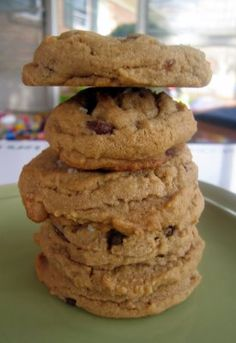 Sweet & Salty Peanut Butter Chocolate Chip Cookies | The Spiced Life