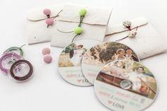 handmade CD / DVD packaging