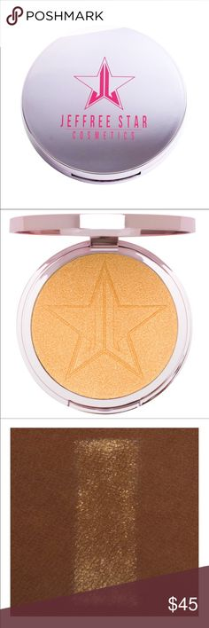 Jeffree star NEW Jeffree star summer limited edition highlighter in summer snowcone jeffree star Makeup
